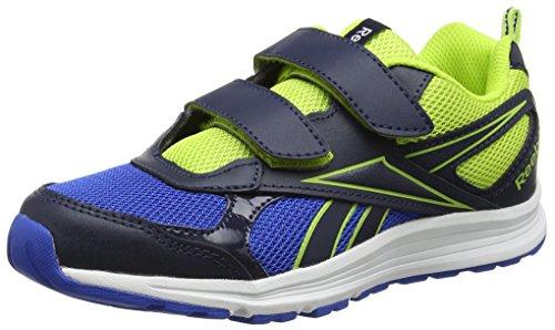 Reebok Almotio Rs 2v, Zapatillas de Trail Running Unisex Niños Azul (Azul (Collegiate Navy /     Awesome Blue /     Kiwi)