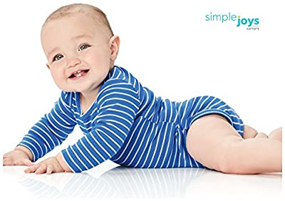 Simple Joys by Carter's Baby Boys 5-Pack Long-Sleeve Bodysuit by Simple Joys by Carter's that we recomend personally.