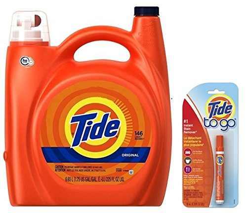 Tide High Efficiency (HE) Laundry Detergent, 225 Fl. Oz. 146 LOADS (Tide Laundry Detergent Baby)