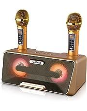$139 » Portable Karaoke Machine for Kids & Adults - Best Birthday Gift w/Bluetooth Speakers, 2 Wireless Microphones, Tablet Holder, PA System & Karaoke Song Mode!