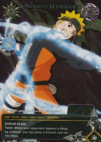 Naruto Card - Naruto Uzumaki 1006 - Promo - Super Rare - Foil