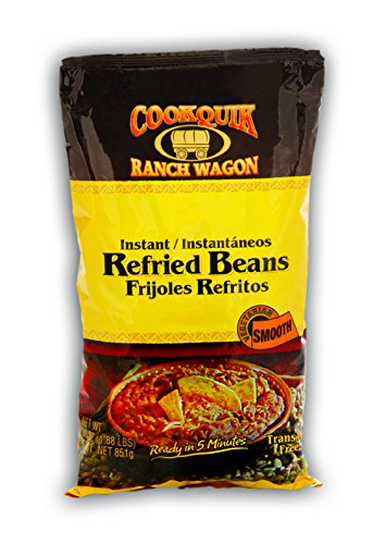 Instant Bean (Cookquik Dehy Refried Smooth Pinto, 30 oz)
