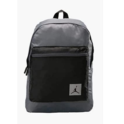0f3feb9596bc Amazon.com  Air Jordan Packable Backpack (Grey Black)  Sports   Outdoors