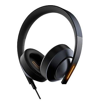 HAJZF Auriculares estéreo Elegantes y fáciles de Usar ...