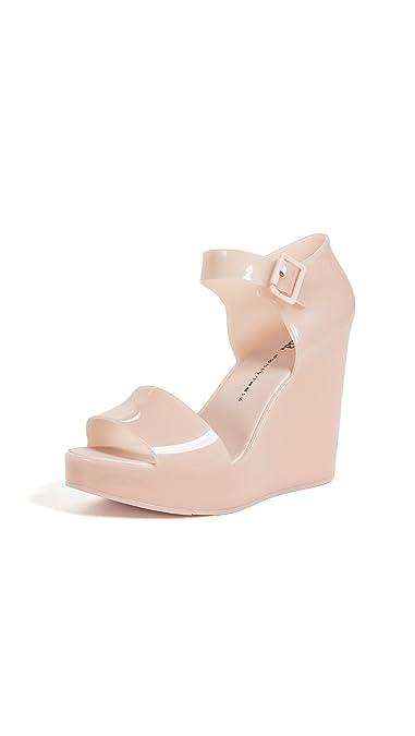 242818c6e3 Melissa Women's Mar Wedge Sandals, Light Pink, ...