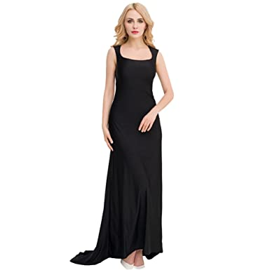 YOUJIA Womens Lace Backless Cocktail Gowns Cut-Out Formal Party Prom Dress Floor Length Evening