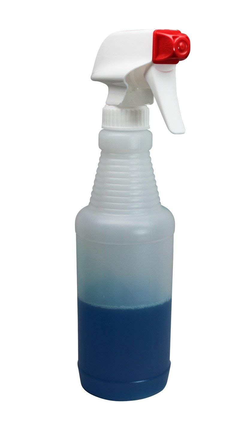 Pinnacle Mercantile Plastic Spray Bottles Leak Proof Technology Empty 16 oz Value Pack of 4 Made in USA: Industrial & Scientific