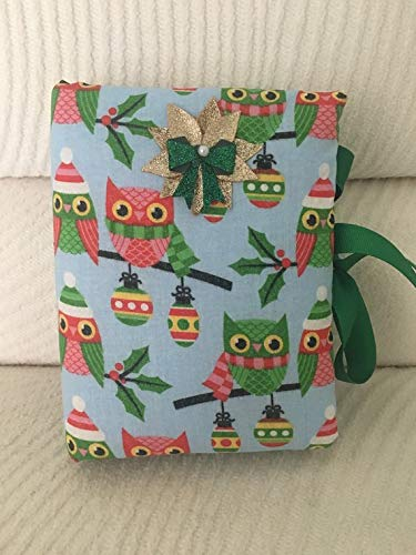 Christmas Owls Padded Fabric Photo Album