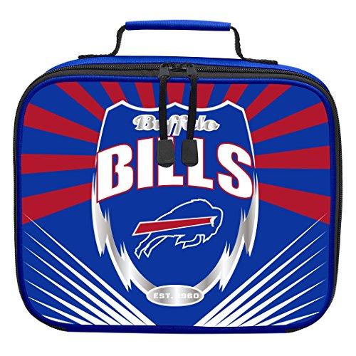 The Northwest Company Officially Licensed NFL Buffalo Bills Lightning Kids Lunch Kit, Blue