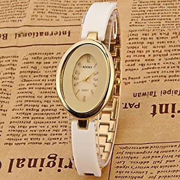 Fashion Watches Relojes Hermosos, Mujer Reloj de Moda Reloj creativo único Simulado Diamante Reloj Chino