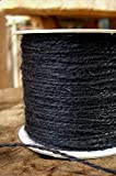 Dexon Power Jute Twine Black 100yds