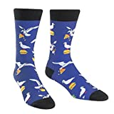 Sock It To Me Men's Crew Sock - Hangry Birds 7-13