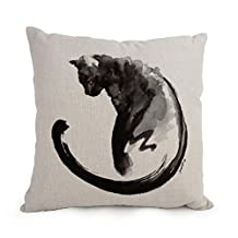 Pillowcase 12 X 20 Inches / 30 By 50 Cm(each Side) Nice Choice For Bar Bf Bedroom Bedroom Study Room Drawing Room Cat