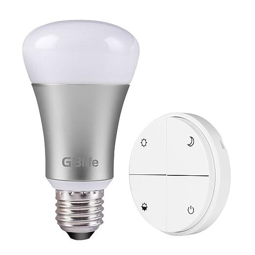 4 opinioni per GBlife LED Lampadina Intelligente Attacco E27 Telecomando senza Fili senza