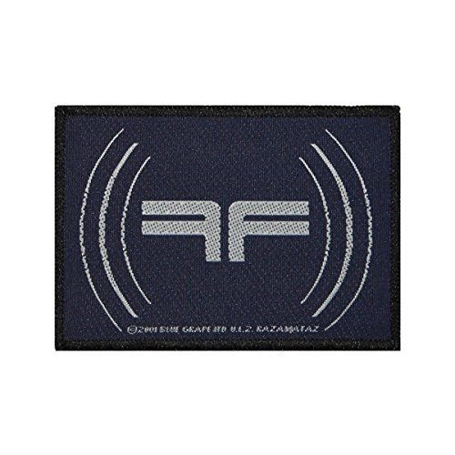 Fear Factory Reverse FF Patch Band Logo Industrial Metal Music Sew On Applique by Mia_you