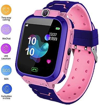 linyingdian Smartwatch Niños, Reloj Inteligente Niños con 1.44 ...