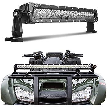 Amazon Com 20 Inch 100w Led Light Bar Spot Flood Combo