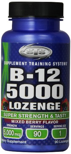 STS Methylcobalamin B-12 5000, 90-Count - Sts Supplement Training Systems