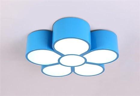 Malovecf Fünf Blatt Blumen Kinder Zimmer Lichter Deckenleuchten Für  Jugendzimmer Deckenleuchten Für Kinder Deckenleuchten Für Mädchen