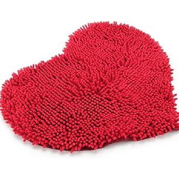 Red Fluffy Rug Roselawnlutheran