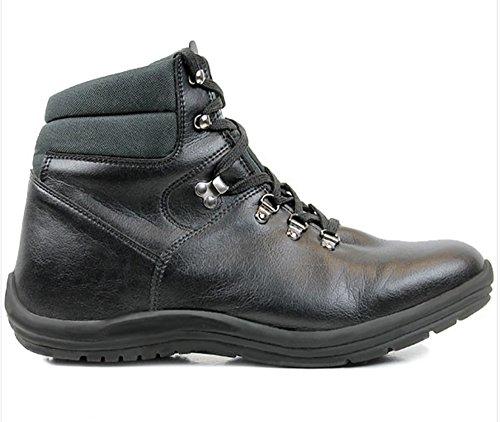 will's Men's Vegan Walking/Hiking Boots (8 M (US)) Black