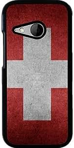 Funda para Htc One Mini 2 - Bandera De Suiza by WonderfulDreamPicture