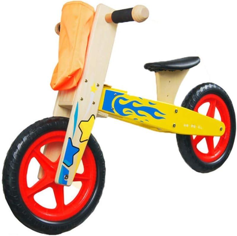 QHWJ Bicicleta para niños con Equilibrio de Madera, Patinaje ...