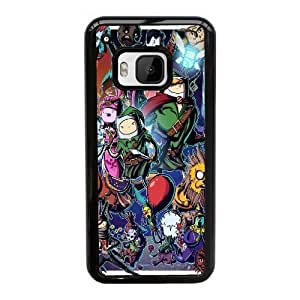 Printed Cover Protector HTC One M9 Cell Phone Case BlackAdventure Time ZeldaZycvl Unique Design Cases