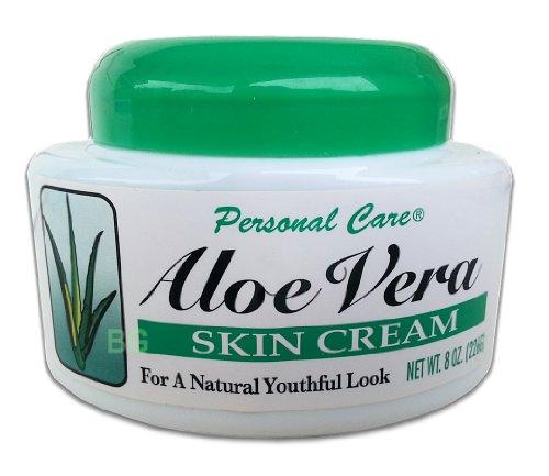 Personal Care Aloe Vera Skin Cream 8oz Jar