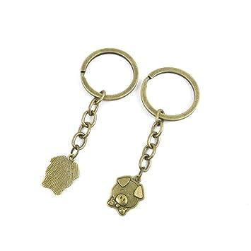 Llavero, llavero, etiquetas, cadenas, anillos, joyas, bolso ...