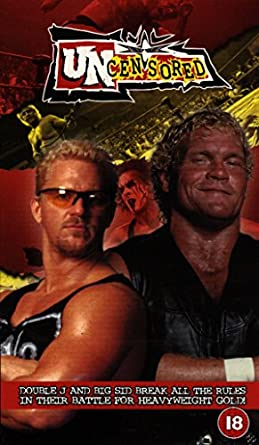 Amazon com: WCW Ppv Uncensored 2000 [VHS]: Movies & TV