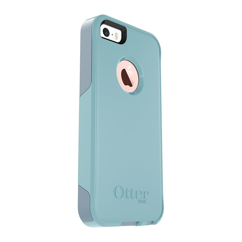 OtterBox COMMUTER SERIES Case for iPhone 5/5s/SE - BAHAMA WAY (BAHAMA BLUE/WHETSTONE BLUE) by OtterBox (Image #4)