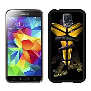Fashionable Antiskid Cover Case For Samsung Galaxy S5 I9600 G900a G900v G900p G900t G900w With Kobe Bryant 3 Black Phone Case by mcsharks