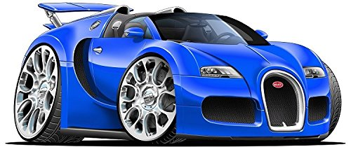 Amazon Com 24 2010 Bugatti Veyron Grand Sport Blue Super Car