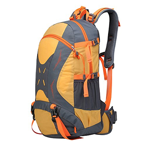 Yy.f 40L Tácticas De Expansión Al Aire Libre Deportes Mochilas Militares Camping Senderismo Paseos A La Mochila. Multicolor Orange