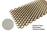 100X200X0.8mm Super Titanium Mesh Filter Screen for Electrolysis 3.53X7.05X0.03in,5pcs/Packaging