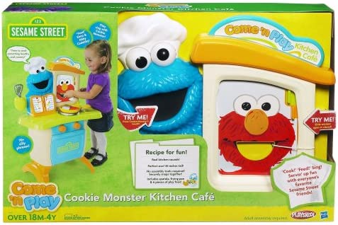Playskool Sesame Street Come N Play Cookie Monster Kitchen Café Playset Kitchen Playsets Amazon Canada