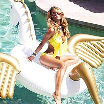 Piscina Inflable flotador Hinchable Colchonetas Pegasus Unicornio ...