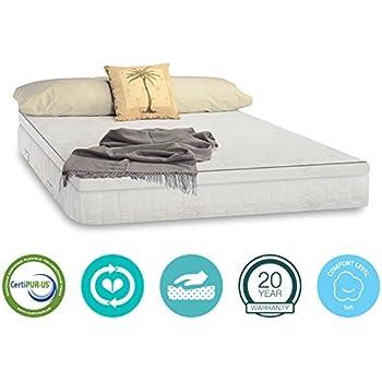 Amazon Com 13 Inch Pillow Top Aloe Vera Gel Memory Foam