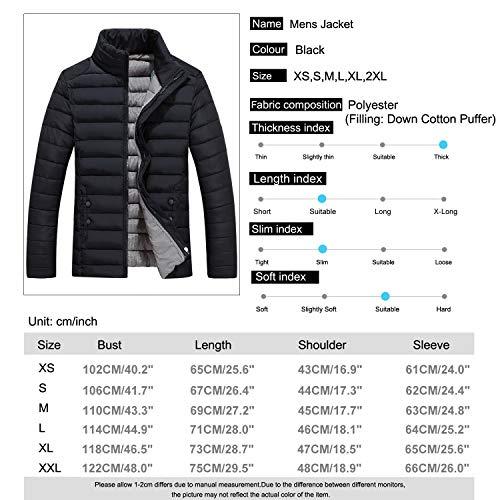 Hiver Manteau Pour Duvet Montant Parka Sidiou Col Doudoune Veste Chaud Noir Group Homme Hommes Rembourrée ttFXq