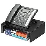 Designer Suites Telephone Stand, 13 x 9 1/0 x 4 2/5, Black Pearl