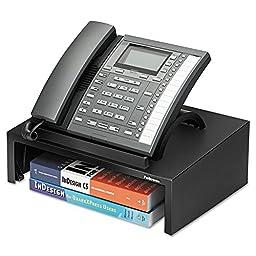 Bankers Box-Designer Suites Telephone Stand, 13 x 9 1/0 x 4 2/5, Black Pearl