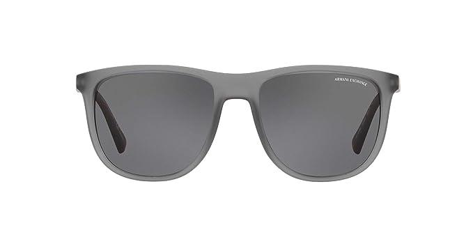 6a81671e09 Armani Exchange - anteojos de sol polarizadas para hombre (cuadradas, 56,0  mm