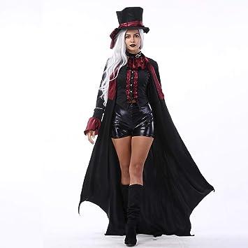 Disfraz De Halloween Pareja Adulta Disfraz De Diablo Capa Juego De ...