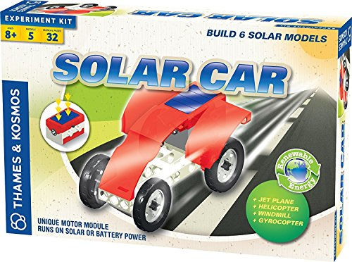 Super Solar Race Car (Thames and Kosmos Solar Car Set Science Kit)