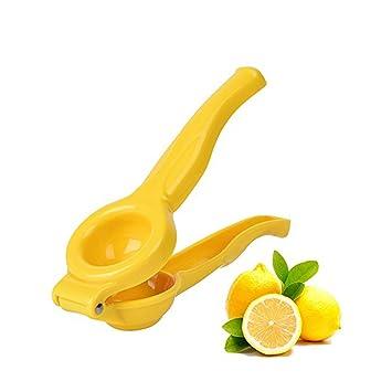 Exprimidor de lima de limón – Exprimidor de limón, manual de prensa de cítricos &