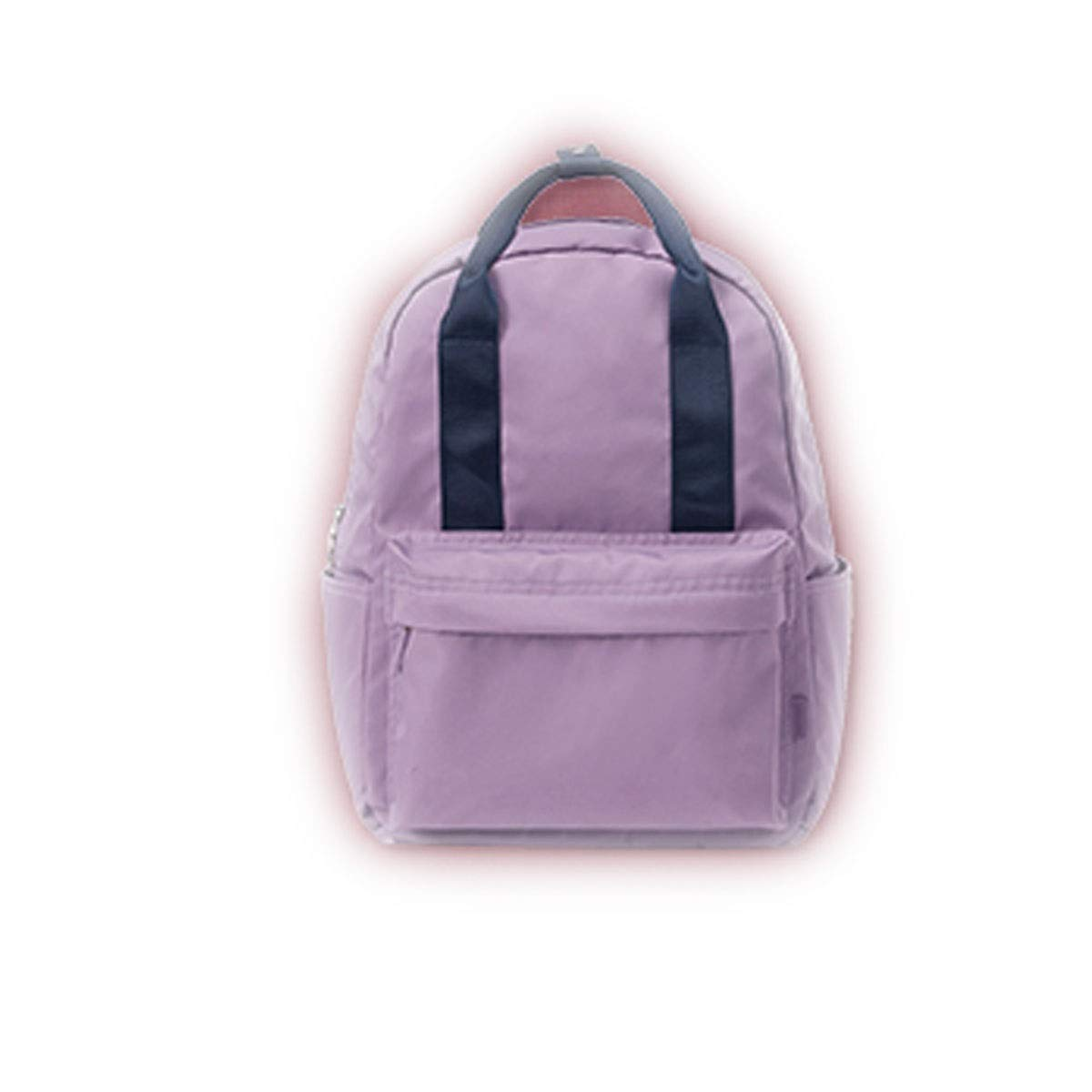 TONGBOSHI Backpack Female 2019 Simple Casual Backpack Male Large-Capacity School Bag College Students (Color : 4)