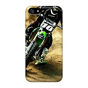 Snap-on Two Wheel Peace Case Cover Skin Compatible With Iphone 5/5s