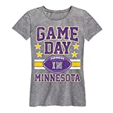 Air Waves Game Day Minnesota-Ladies Short Sleeve Classic Fit Tee
