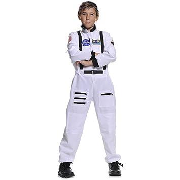 Amazon.com: Nasa Color Blanco Astronauta Kids Costume, L ...
